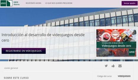 Curso gratuito de introducción al desarrollo de videojuegos   Educativas   Scoop.it