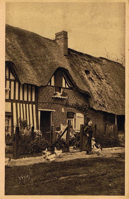 Les chaumières du canton de Duclair (76) | L'écho d'antan | Scoop.it