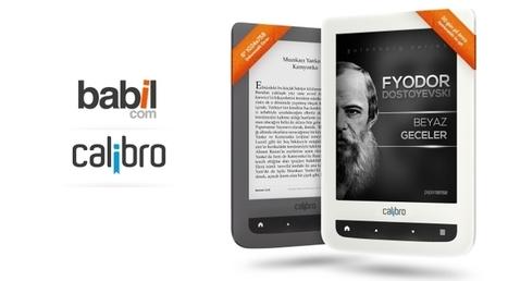 Libronet yerli e-kitap okuyucuları Calibro ve Calibro Touch Lux'ü tanıttı | Kindle Haberleri | Scoop.it