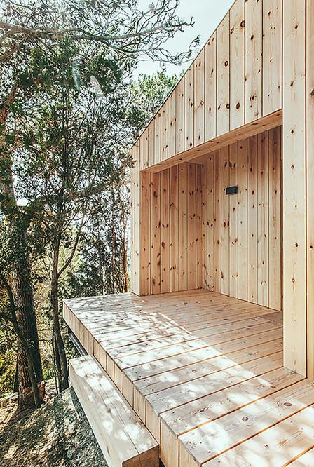 Casa estudio de madera / Dom Arquitectura - Plataforma Arquitectura | retail and design | Scoop.it