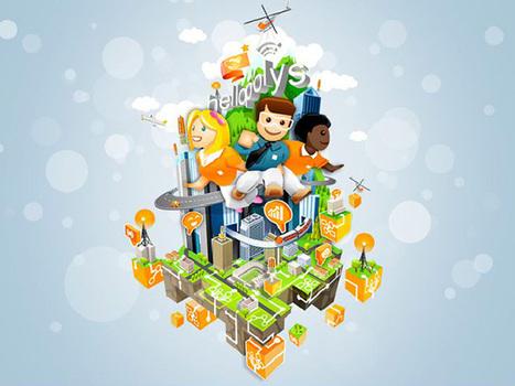 Hellopolys : construisez un réseau télécom virtuel, sur Facebook | Fredzone | hellopolys | Scoop.it