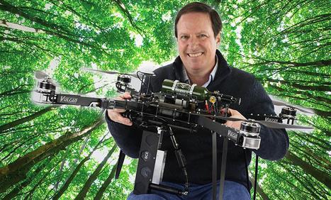 Il veut planter un milliard d'arbres avec ses drones | Des robots et des drones | Scoop.it