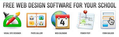 Free Web Design Software for Schools | Time to Learn | Scoop.it