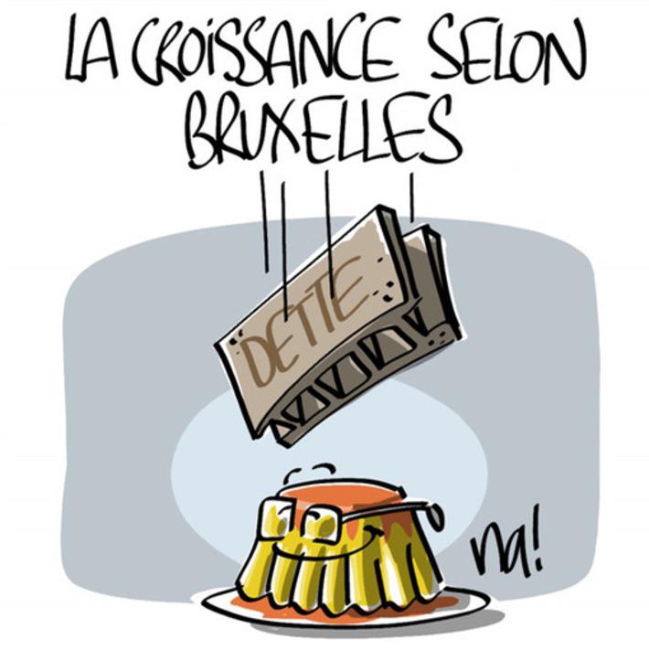 La croissance selon Bruxelles | Baie d'humour | Scoop.it