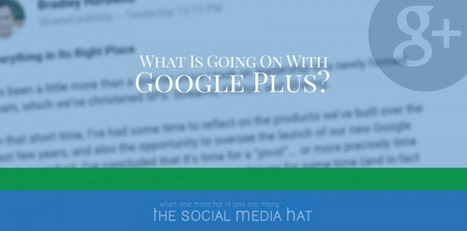 What Is Going On With Google Plus? | Digital Brand Marketing | Scoop.it