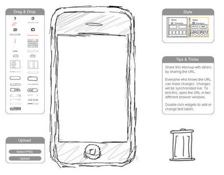 11 Useful Free UI Wireframe Tools For Designer | Free and Useful Online Resources for Designers and Developers | The Toolkit | Scoop.it