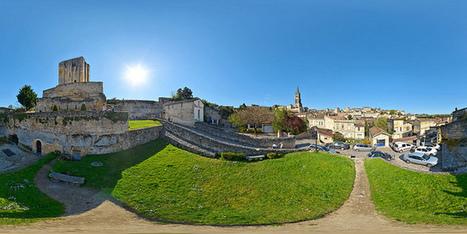 Saint-Emilion et sa tour du Roy  -  France par Pascal Moulin - Panorama 360 x 180° au mât télescopique | moulin360panoramic | Scoop.it