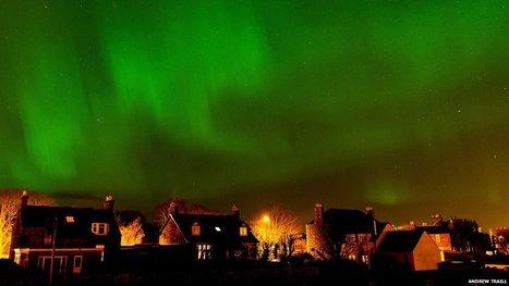 Northern Lights illuminate the UK | Adventure Sports & Travel | Scoop.it