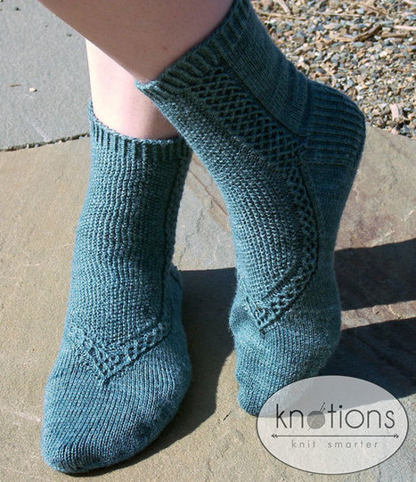 Glass Slippers by Cailyn Meyer - knotions | Spinning, Weaving and Knitting | Scoop.it