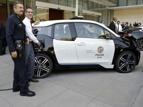 BMW Unveils Puny Electric Police Car | Magazine | Scoop.it
