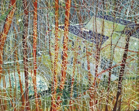 Peter Doig At Christie's: Painting By The Scottish Artist Set To Fetch ... - Huffington Post | abstract art | Scoop.it