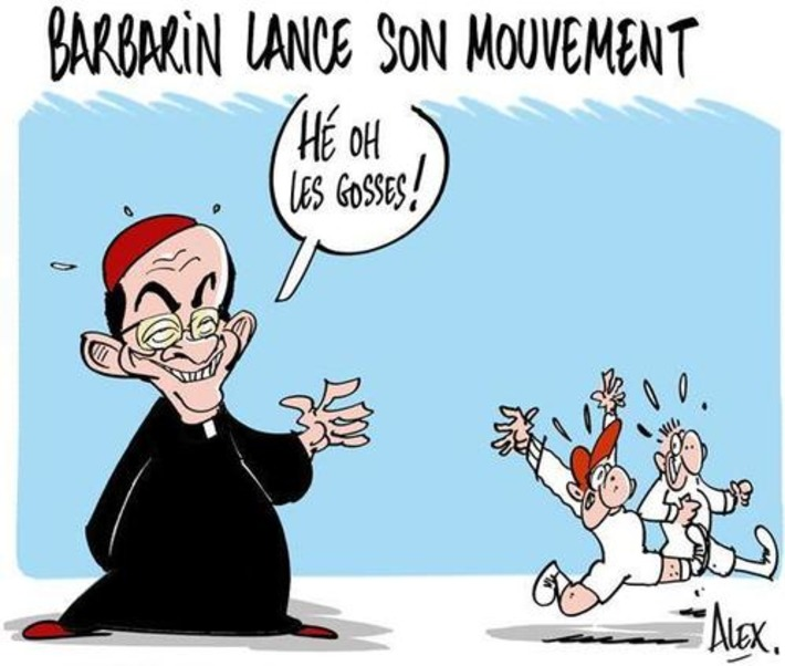 Barbarin lance son mouvement | Baie d'humour | Scoop.it