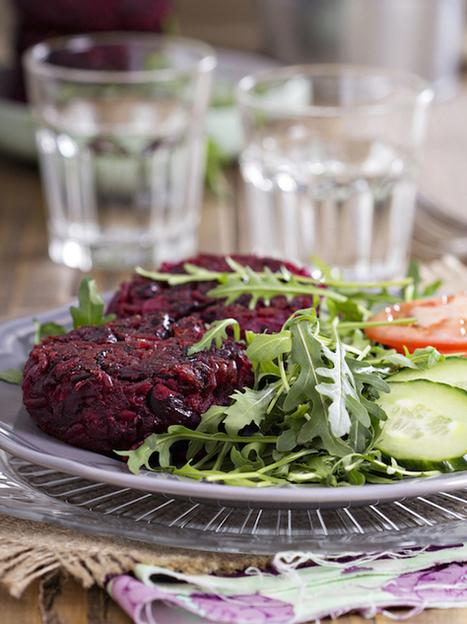 Vegan Beet Burgers | My Vegan recipes | Scoop.it