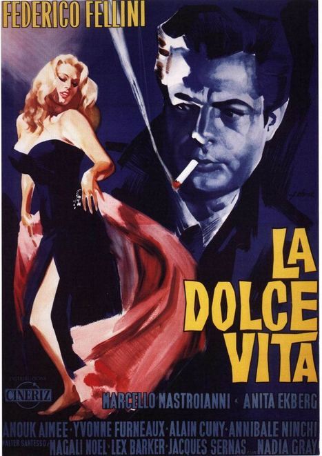 La Dolce Vita - Federico Fellini | Italian Inspiration | Scoop.it