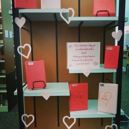 Blind date book displays | LibraryLinks LiensBiblio | Scoop.it