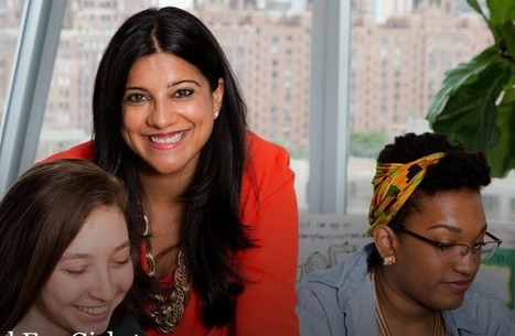 Meet The Girls Who Code Founder, Reshma Saujani #makereducation | iPads in Education | Scoop.it
