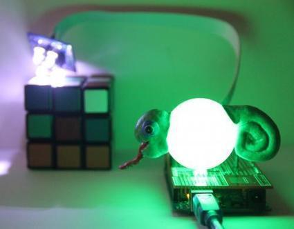 Robot Chameleon | Let's Make Robots! | Innovation sociale et TIC | Scoop.it