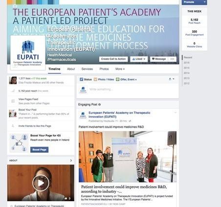 European Patients Academy on Therapeutic Innovation   Santé : patient acteur, patient expert   Scoop.it