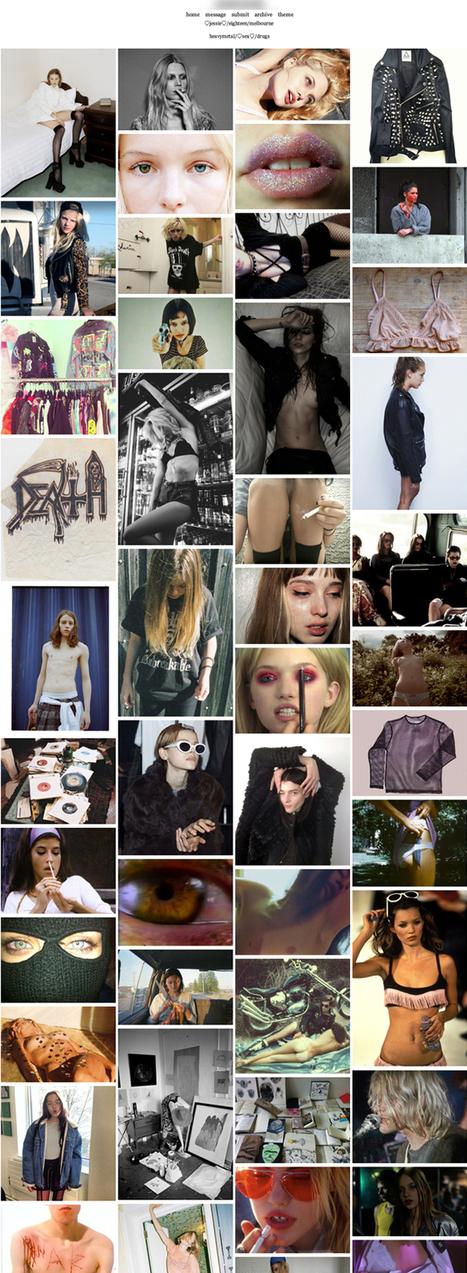 Tumblr, la sédimentation d'un imaginaire commun. 3 / lectures | détresse visuelle | art , photo, design, culture digitale | Scoop.it