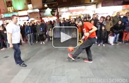 Insane street football Skills by Panna London (Video)   football   Scoop.it