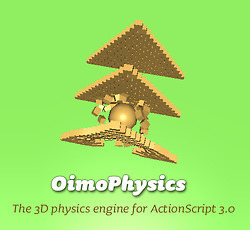 OimoPhysics - 3D physics engine for ActionScript... | Everything about Flash | Scoop.it