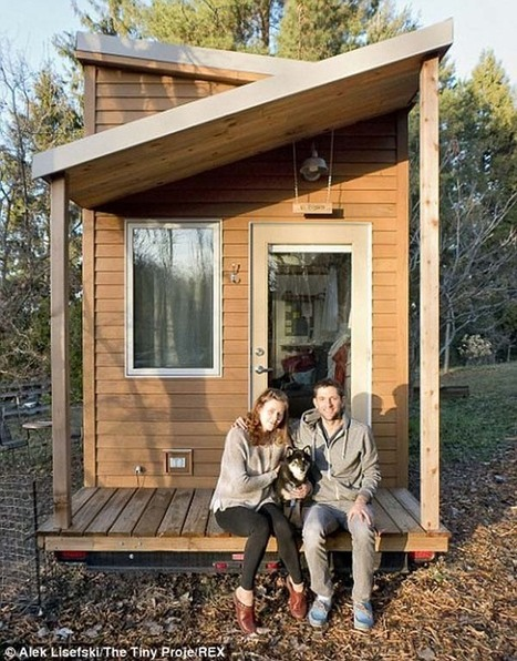 A 31 Year Old Was Sick Of Expensive Rent And High Costs. What He Did Took Guts… But Look Inside. | Small Houses and Sustainable Architecture | Scoop.it