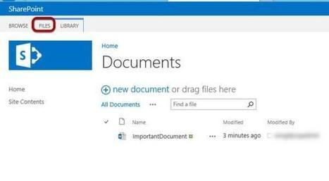 How To Create a Document Workspace in SharePoint 2013 - Redmondmag.com   How to use SharePoint 2013   Scoop.it