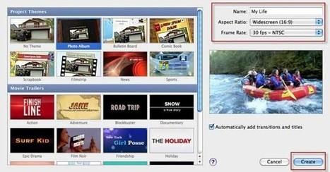 Cómo utilizar iMovie (iMovie 09/08/11) para hacer una película casera | LLUM | Scoop.it