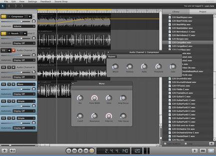 Soundation, un home-studio complet dans votre navigateur | Bad | Scoop.it