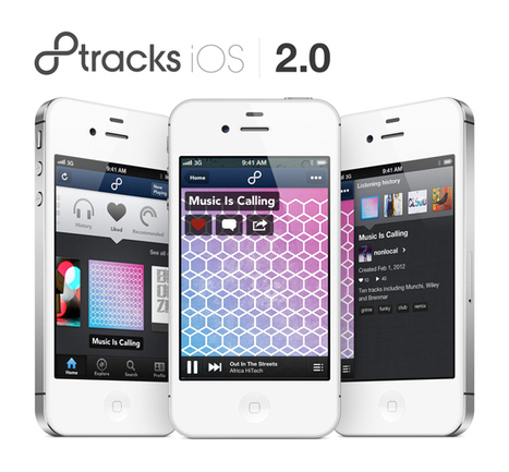 8tracks Relaunches On iPhone: App Rebuilt From Ground-Up With New Look, Better Music Discovery | Music business | Scoop.it