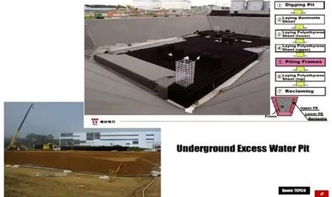 Tepco réalise une fosse géante pour l'eau contaminée | # Uzac chien  indigné | Scoop.it