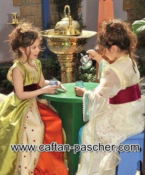 Caftan enfant moderne | caftanboutique | Scoop.it