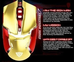 Updated Iron Man 3 Gaming Mouse: Iron Mouse Mark II | All Geeks | Scoop.it