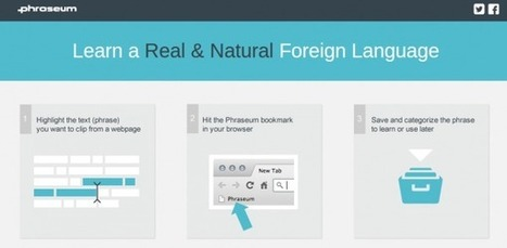 phraseum, para aprender idiomas de forma natural vía Internet (coleccionando frases) | Recull diari | Scoop.it