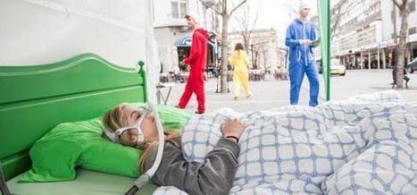 Campagne originale pour sensibiliser à l'apnée du sommeil | streetmarketing | Scoop.it