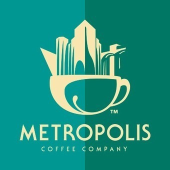 Metropolis Coffee logo : Art Deco-style branding | Looks -Pictures, Images, Visual Languages | Scoop.it