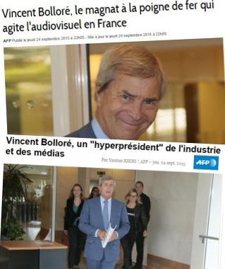 Portrait de Bolloré: l'AFP voit double | DocPresseESJ | Scoop.it