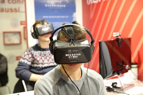 Découvrir son e-réputation avec la réalité virtuelle? On a testé! | Veille numérique, pédagogie et CDI | Scoop.it