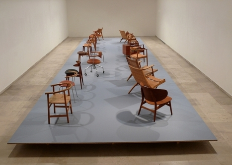 Museo Patio Herreriano | Hans Wegner 18 sillas, un mueble bar y un frutero | design exhibitions | Scoop.it