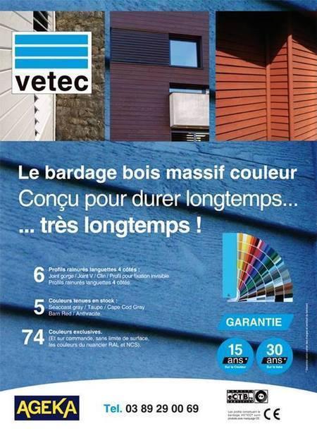 VETEC. Bardage bois massif couleur. Profils rainurés languettes 4 côtés | Ageka les matériaux pour la construction bois. | Scoop.it