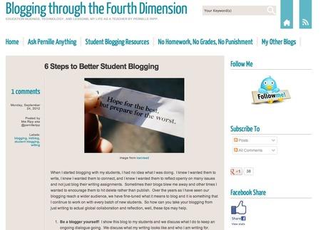 Blogging through the Fourth Dimension | IT og  undervisning generelt _ Morten Ulstrup | Scoop.it