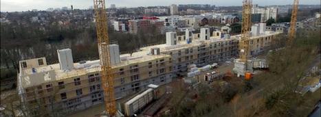 Ris-Orangis fait le pari d'un immeuble HLM 100% bois | rénovation énergétique | Scoop.it