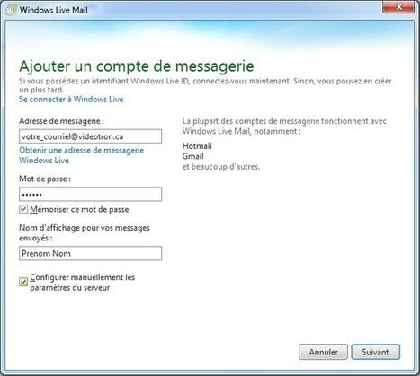 Windows Live 2011 - ajout compte POP | Cerje | Scoop.it