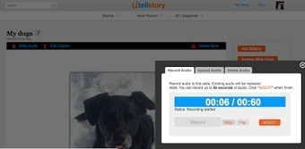 UtellStory - Tell a Story With Pictures and Voice | Scriveners' Trappings | Scoop.it