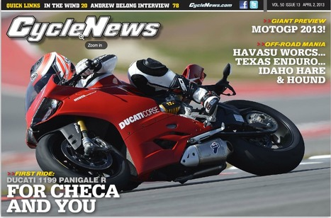 Cycle News - From World Supers To You | Ductalk Ducati News | Scoop.it