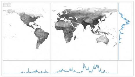 Mapa interactivo: La población mundial por latitud y longitud | GeoTic | Scoop.it