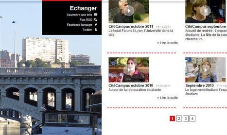 Citécampus Lyon: Interviews et reportages video | Echanges Langues Education | Scoop.it