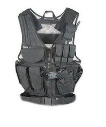 Ultimate Arms Gear Stealth Black Lightweight Edition Tactical Scenario Military-Hunting Assault Vest w/ Right Handed Quick Draw Pistol Holster | Military Surplus Center | Scoop.it