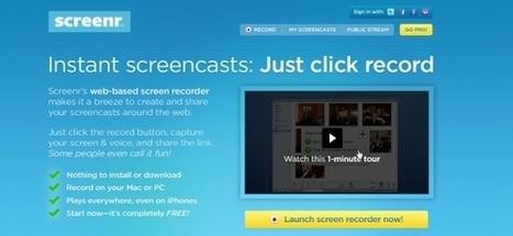 6 herramientas para hacer screencasts | Psiconeuroinmunología | Scoop.it