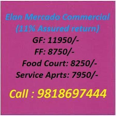 9818697444 Elan Mercado Gurgaon | Elan Mercado Sector 80 Gurgaon | Krrishonegurgaon | Scoop.it